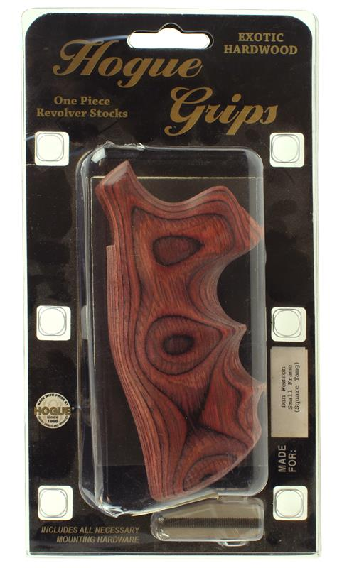 Grips, .22, .32, .357 Mag, Small Frame, Rosewood Laminate, New Factory
