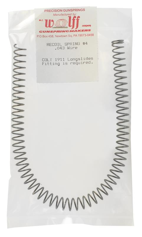 Recoil Spring, Wolff #4, .043 Wire Dia., New