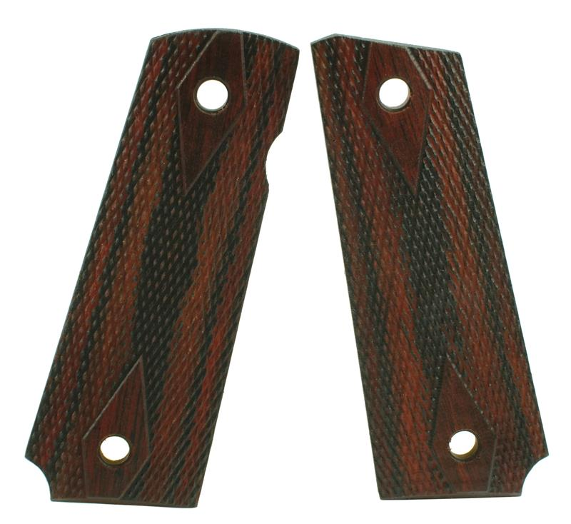 Grips, Slim, Laminated Wood, Double Diamond Checkering, New (Full-Size)