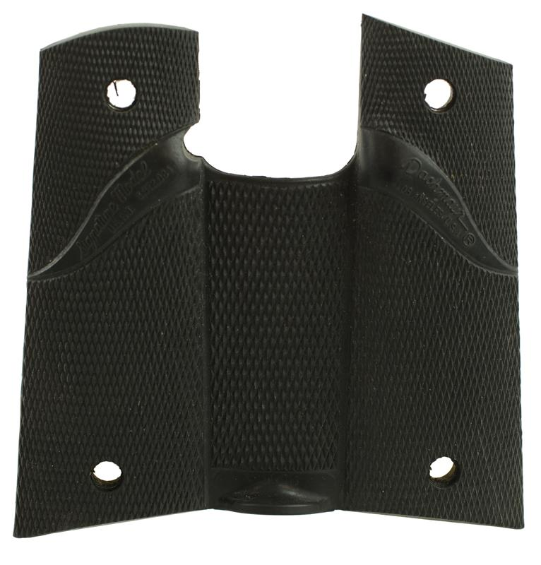 Grips, Wrap-Around, Pachmayr Signature, Checkered Black Rubber, Used