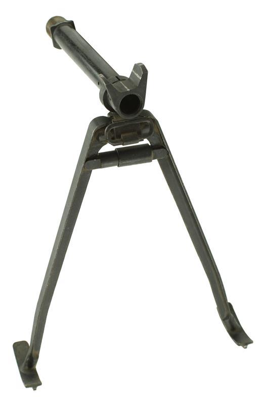 Bipod Assembly, Folding w/ Sled Feet, Gas Cylinder & Swivel, Used