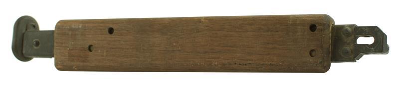 Bipod Leg Assembly, Left, Walnut, Used (w/ Minor Cracks)