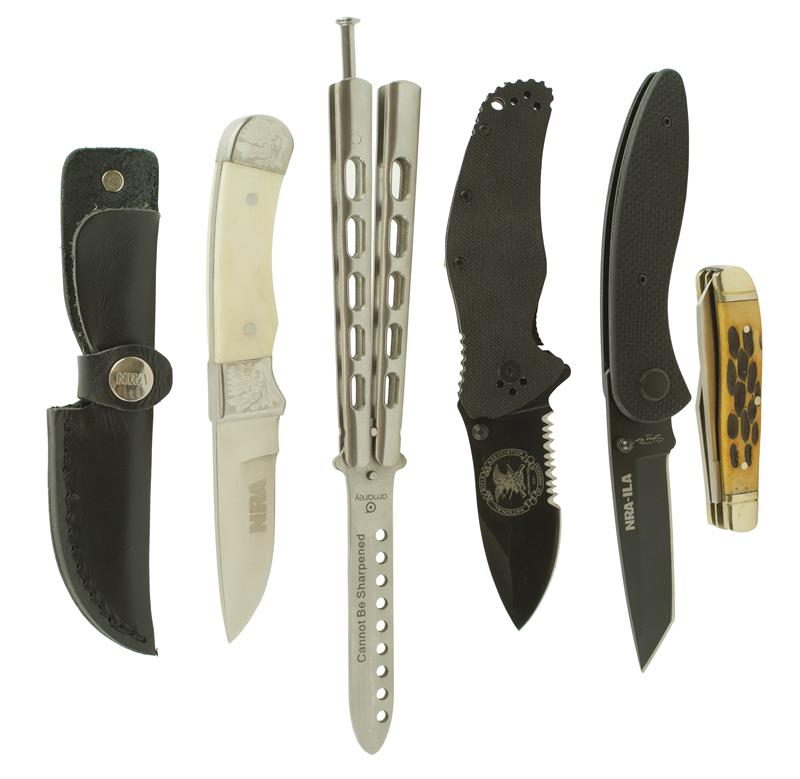 Knife Set, Consists of 5 Knives, New