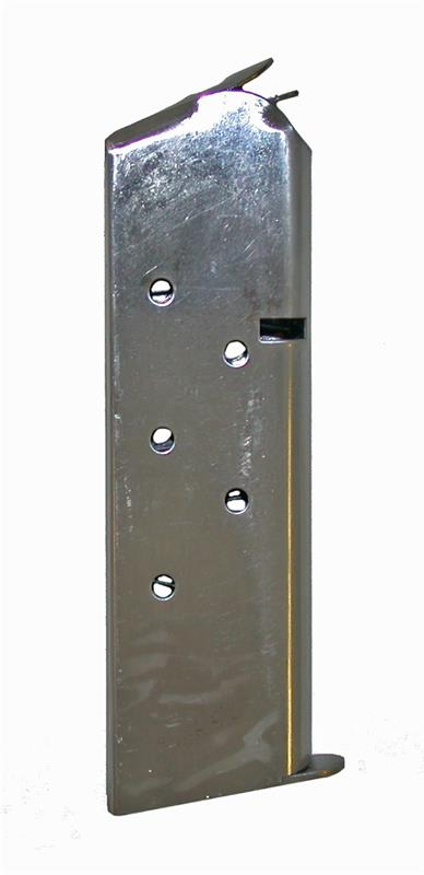 Magazine, .45 ACP, 7 Round, Standard Length, Stainless, New Reproduction