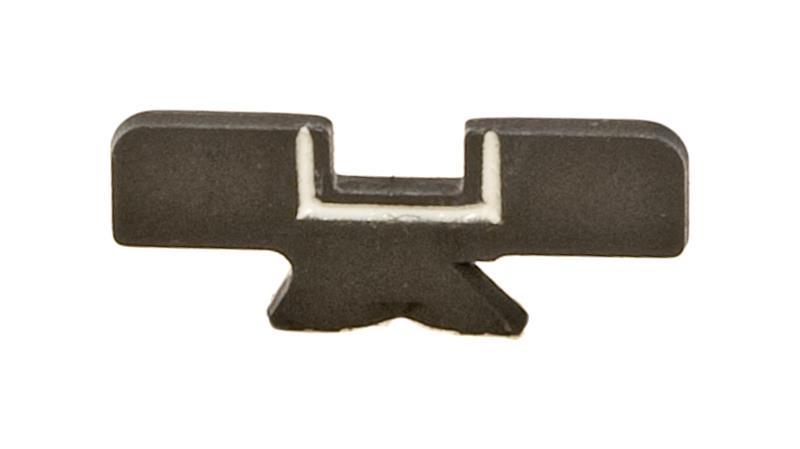Rear Sight Blade, Low Notch, Blued, New Factory Origina (w/ White Outline Notch)