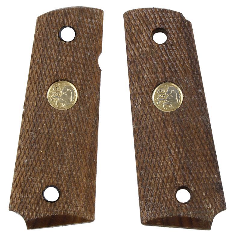 Stock Assembly, Walnut, w/ Gold Medallion