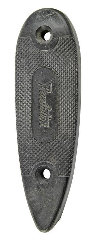 Buttplate, Black Plastic (4.825