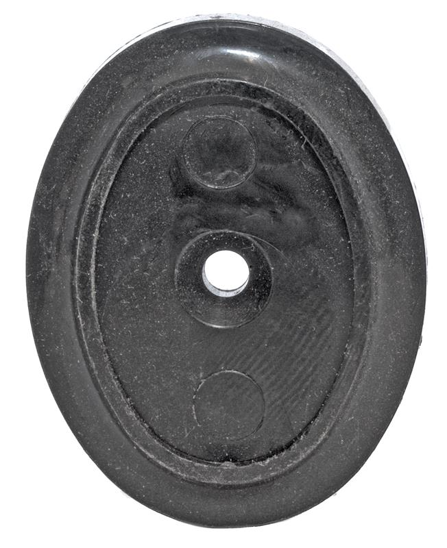 Grip Cap, Decorative Black Plastic