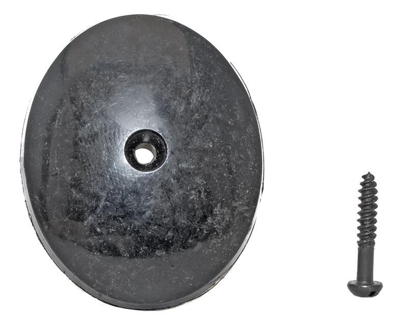 Grip Cap, Convex, Plain (w/ Screw; 1.350