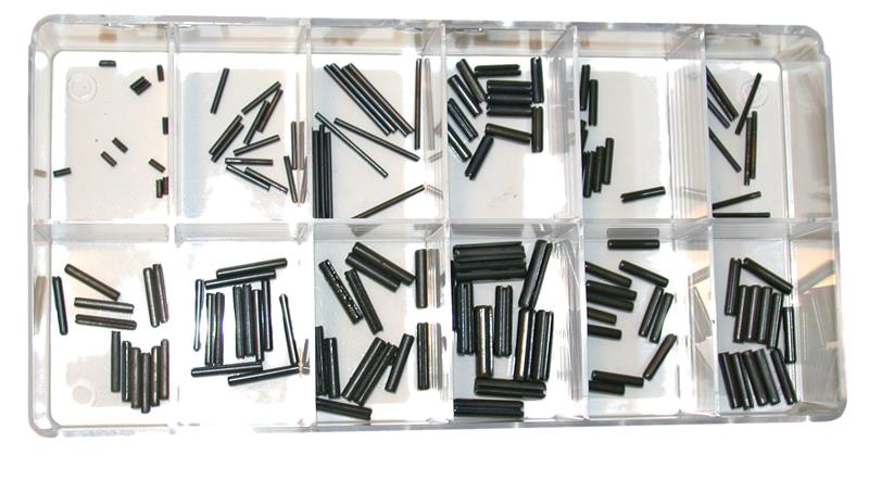 Roll Pin Kit, Universal - Includes 12 Each Of 12 Std Sized Replacement Roll Pins