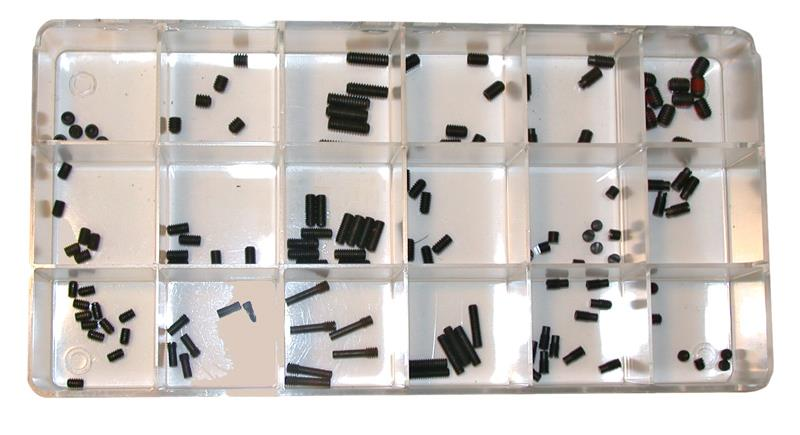Dummy Screw Kit, Headless, Assorted - 6 x 48, 8 x 32 & 10 x 32TPI Sizes.