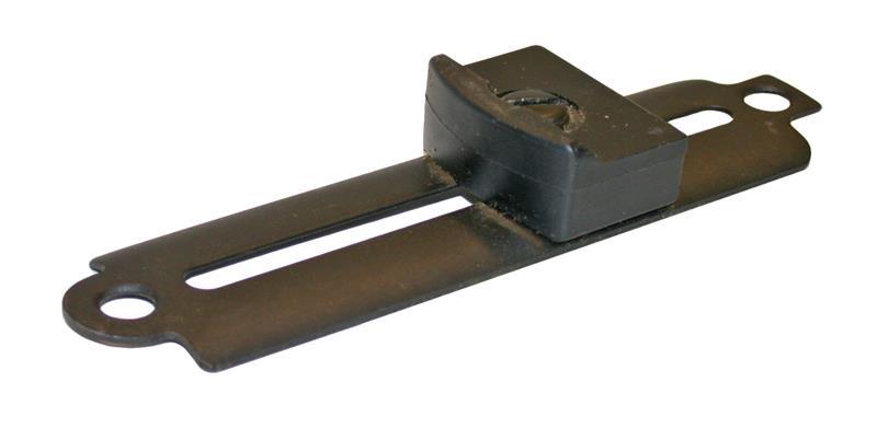 Handstop, Target Rifle, Blued Steel (Base Measures 5-3/4