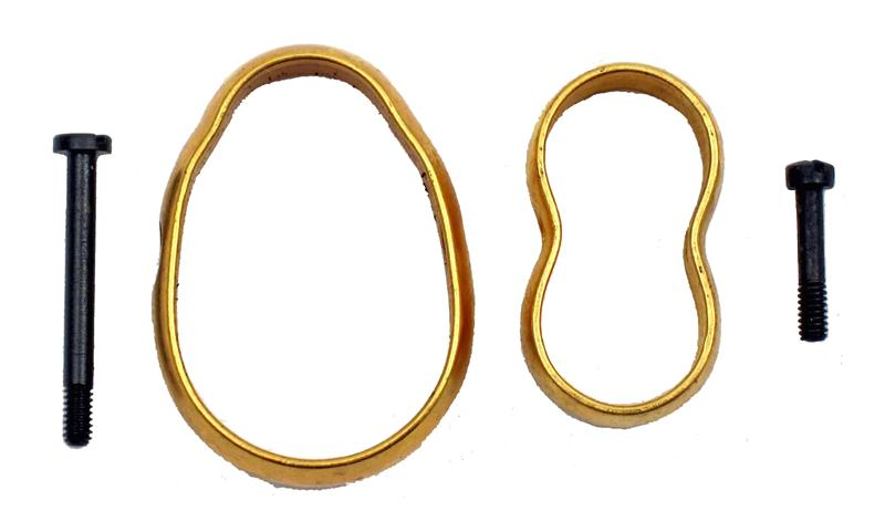 Bands Of Gold - Set Consists Of Front & Rear Band & Comes Complete w/Blued Screw