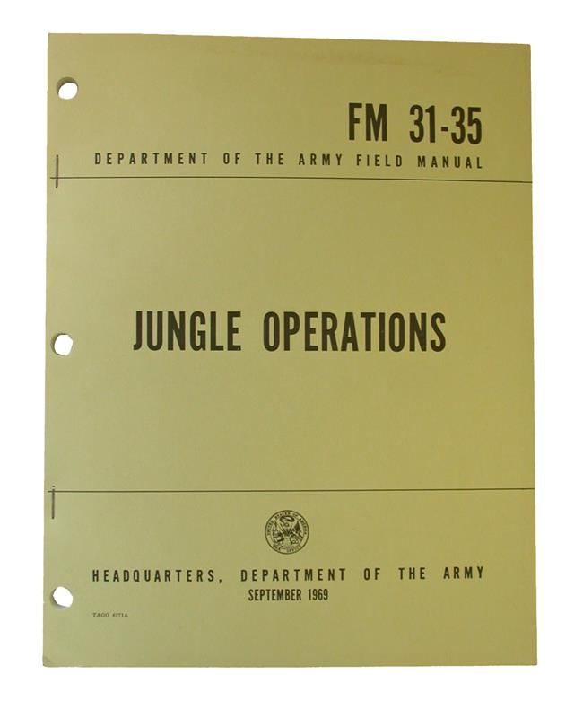Jungle Operations Book
