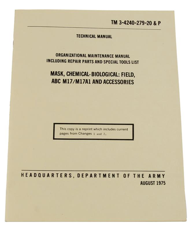 Chemical & Biological Field Organizational & Maintenance Manual - 30 Pages