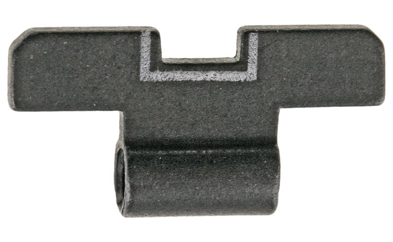 Rear Sight Slide, White Outline, New Factory Original (.126)
