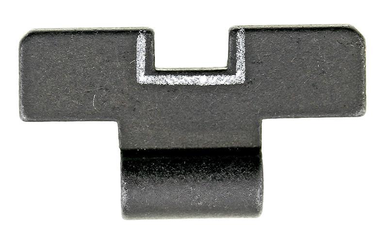 Rear Sight Slide, White Outline, New Factory Original (.160)