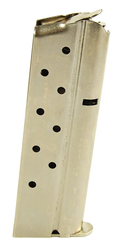 Magazine, .38 Super, 9 Round, Nickel, New (Factory)