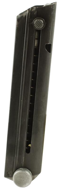 Magazine, .30 Luger / 7.65 Para / 9mm, 7 Round, Blued, New (w/ Aluminum Bottom)