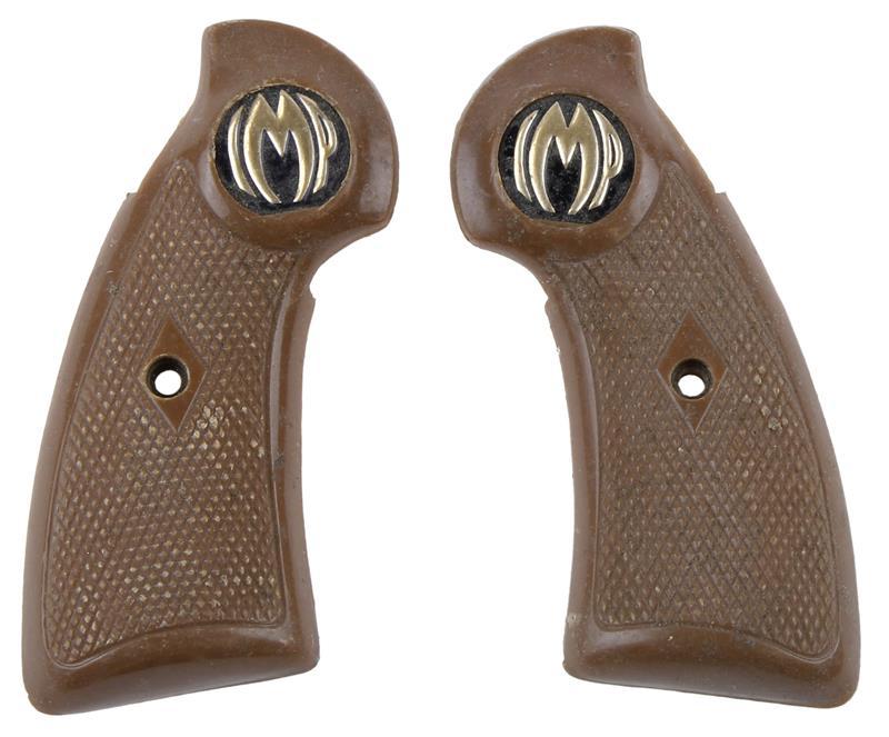 Grips, Markings Vary, Brown Plastic