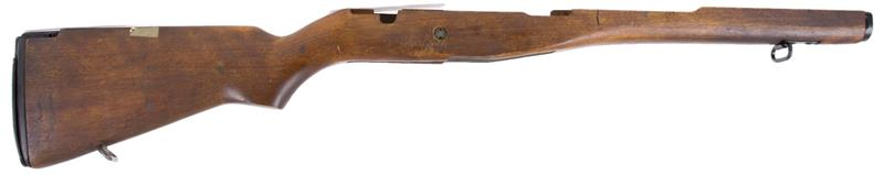 Stock, Walnut Stained Hardwood, Used Original G.I. Surplus