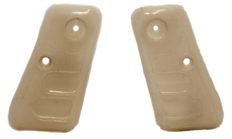 Grips, Armi Galesi, Medium Size, White, New (Outer Length Measures 2.515