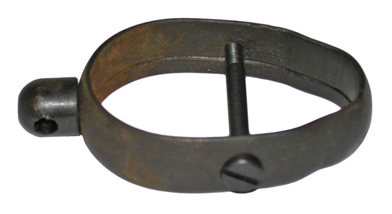 Forend Band, Complete-New Mfg,Blued Steel w/Quick Detachable Base & Band Screw