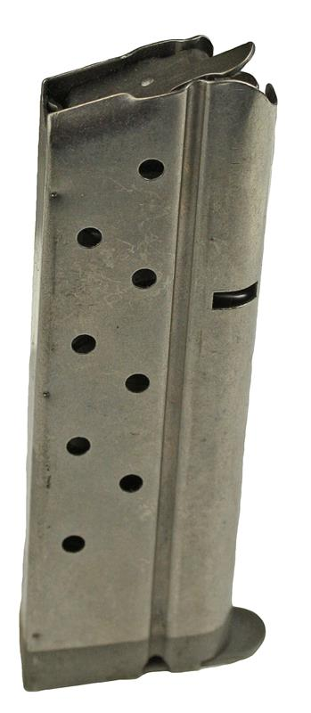 Magazine, 9mm, 9 Round, Nickel, New (Factory)