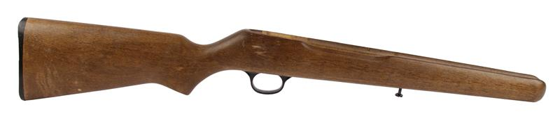Stock - Uncheckered Hardwood w/ Buttplate, Trigger Guard, Rear Magazine Tube