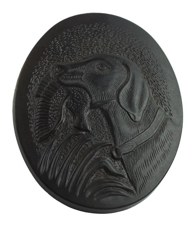 Grip Cap, Shotgun, Dog Logo, Reproduction