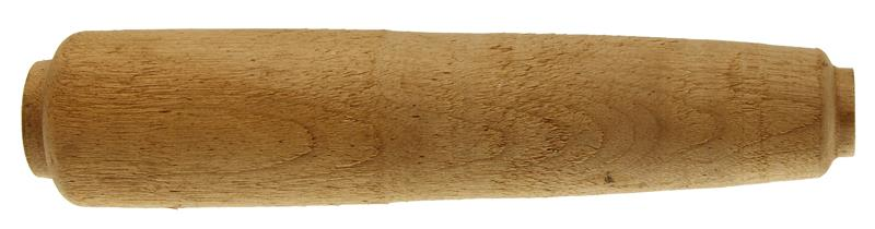 Forend, Blank, Round Hardwood - 8-3/4'' Long x 1.950'' Tapered To 1.4'' Wide
