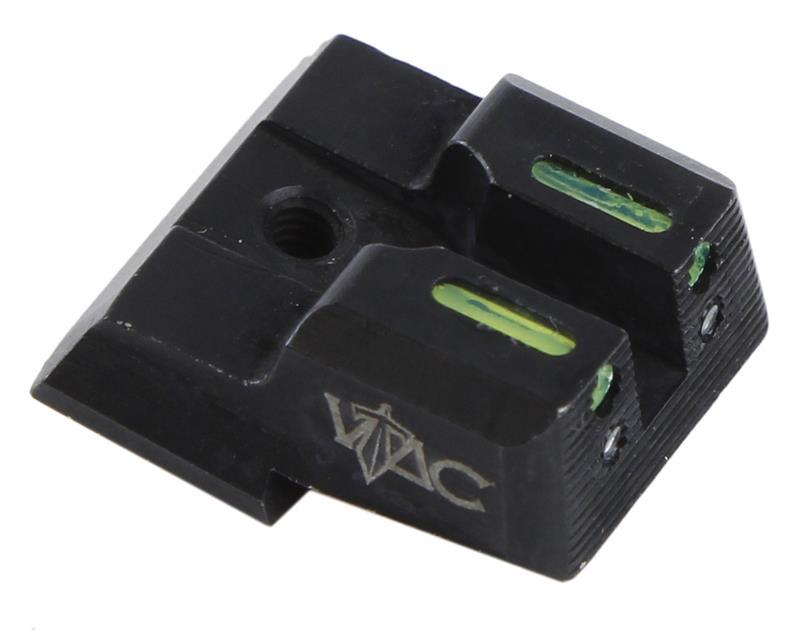 Rear Sight, 9mm, Fiber Optic, Viking Tactical, New Factory Original (VTAC)