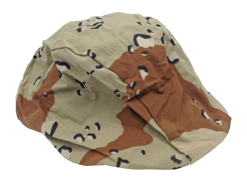 Helmet Cover, Desert Pattern (For G.I. Kevlar Helmets; Size Medium/Large)