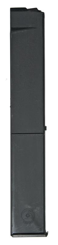 Magazine, 9mm, 32 Round, Cobray, Black Zytel, Used