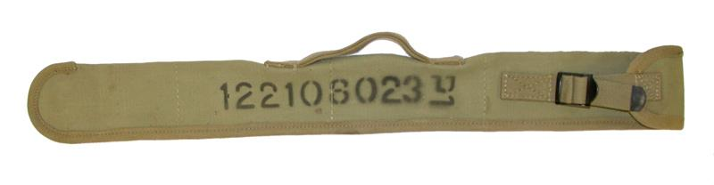 Barrel Cover, .30 Cal., Spare (Israeli Marked Khaki Canvas; 25-1/2