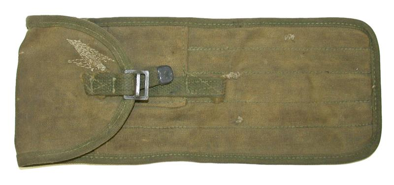 Cleaning Rod Carry Case, .50 Cal., Used, OD Canvas (5