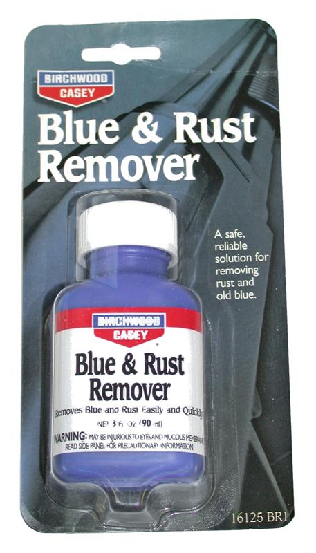 Blue & Rust Remover - Safe & Reliable Removes Rust & Old Blue w/o Damaging Metal