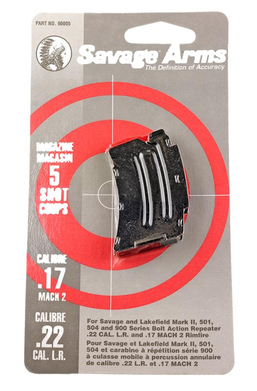 Magazine, .22 LR, 5 Round, Blued, New (Factory)