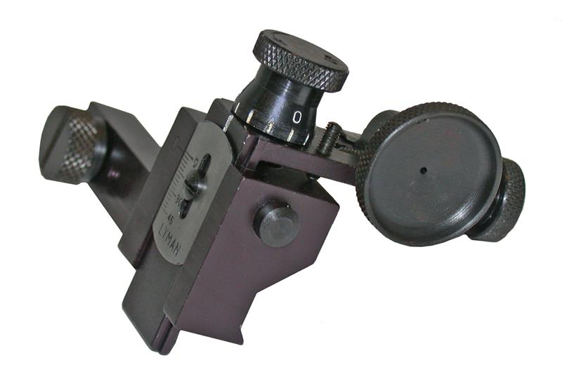 Target Receiver Sight, Lyman 90 MJT - Designed To Mount On Lyman, New Factory