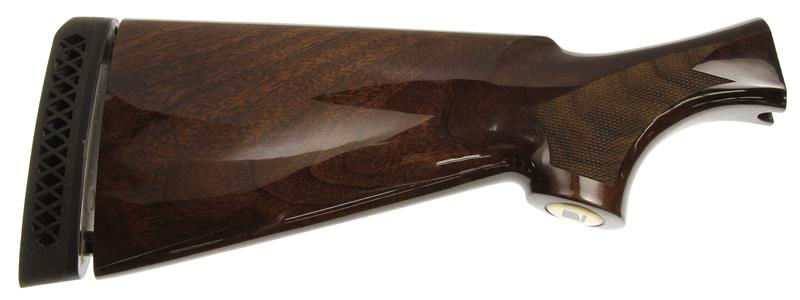 Stock, 12 Ga., RH, Checkered Walnut, Gloss w/ Black Eagle Emblem & Recoil Pad