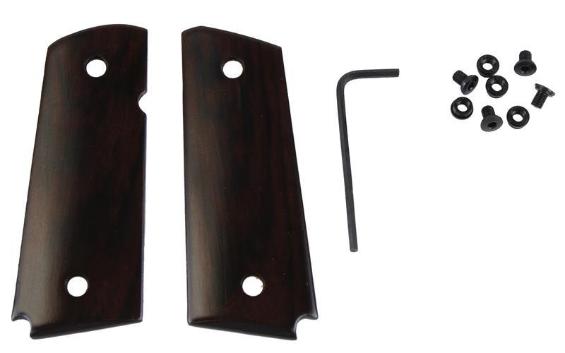 Grips, Ultra Thin Smooth Rosewood w/ Ambidextrous Safety Cut