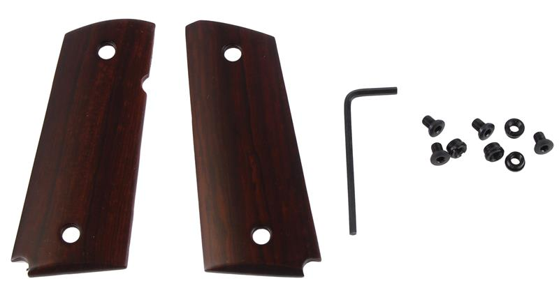 Grips, Ultra Thin Smooth Rosewood w/o Ambidextrous Safety Cut
