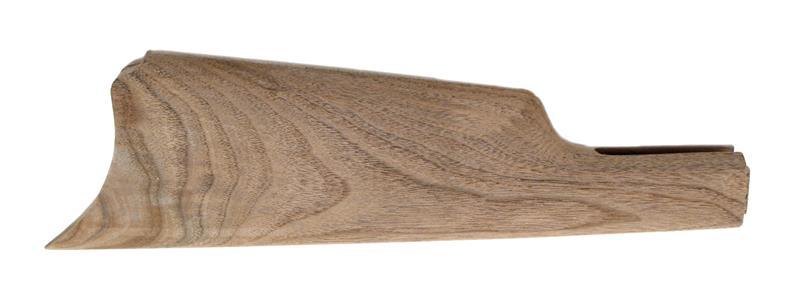 Stock, Straight Grip, Semi-Finished, American Black Walnut