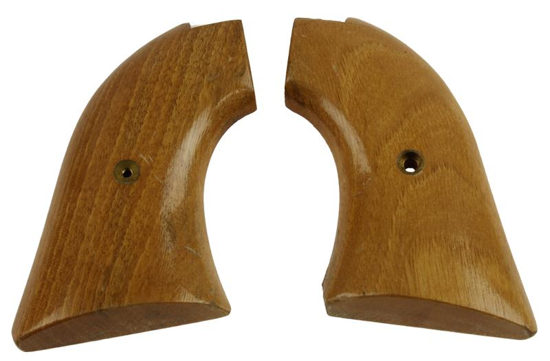 Grips, Wood, Used Factory Original