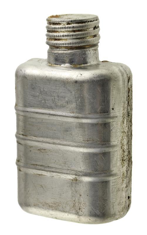 Oil Bottle, Metal (Square)