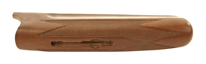 Forend, 12 Ga., Checkered Walnut Finished Hardwood, Semi Gloss