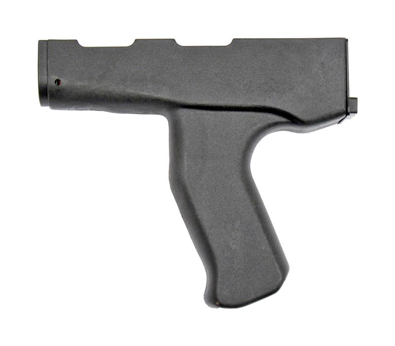 Pistol Grip, Front, Black, New Reproduction