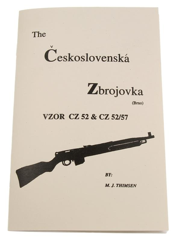 CZ52 Rifle Manual - Soft Cover, 22 Pages