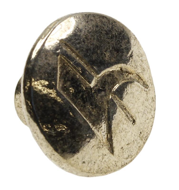 Medallion, Gold Tone