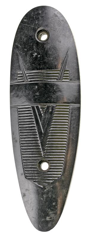 Buttplate (w/ V Type Emblem)